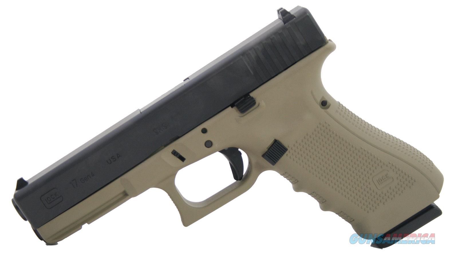 "Glock G17 Gen4 9Mm 4.48"" 17Rd UG1750204CT  Guns > Pistols > G Misc Pistols"