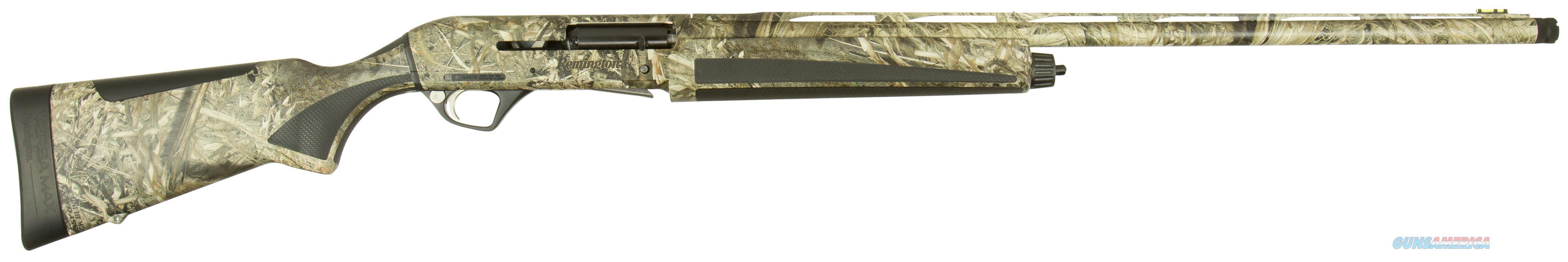 "Remington Firearms 83506 Versa Max Waterfowl Semi-Automatic 12 Gauge 28"" 3.5"" Mossy Oak Duck Blind Synthetic Stk Mossy Oak Duck Blind Aluminum Alloy 83506  Guns > Shotguns > R Misc Shotguns"