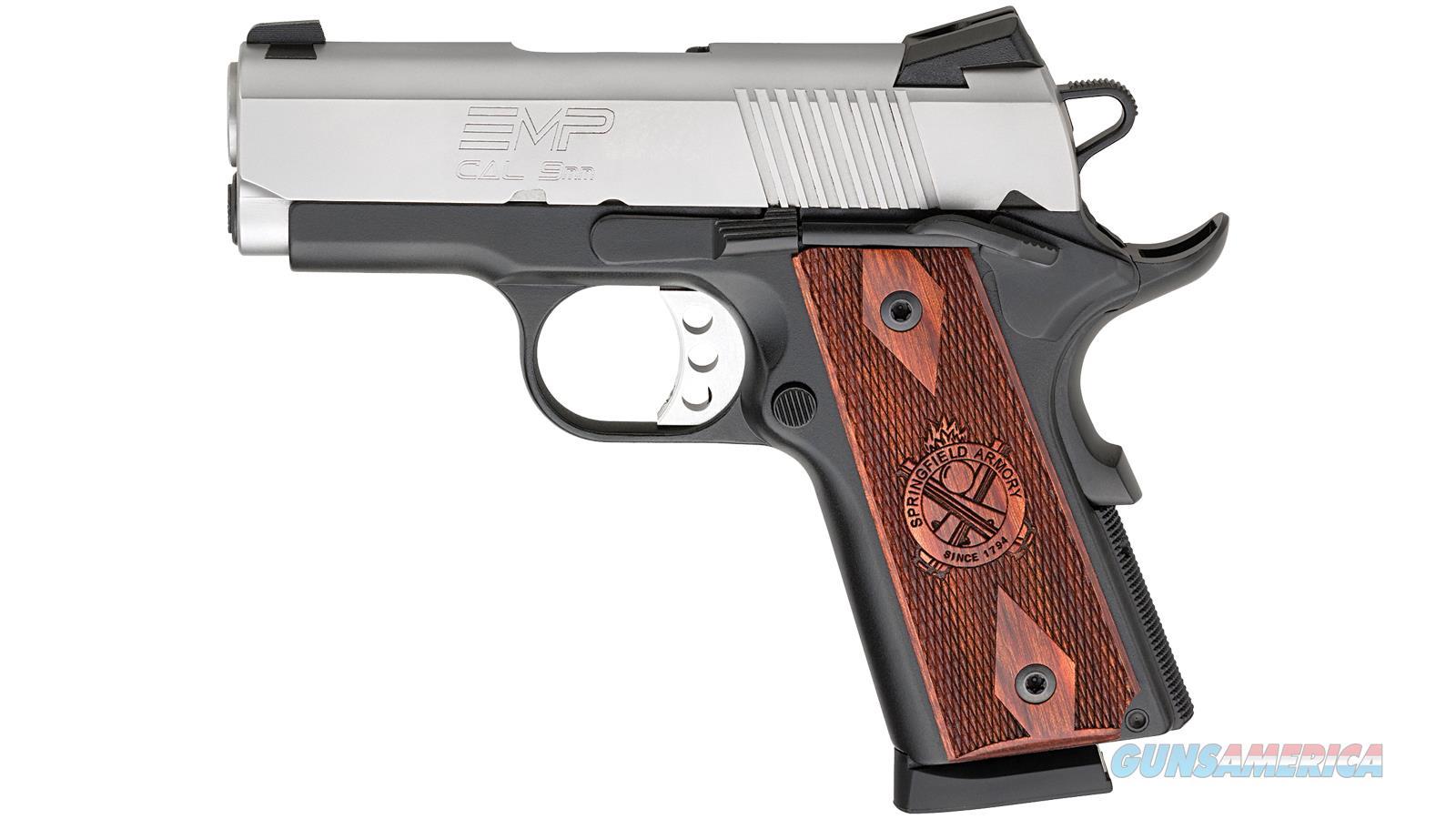 Springfield Armory 1911 Emp 9Mm Compact Bi Tone Lightweight PI9209LCA  Guns > Pistols > S Misc Pistols