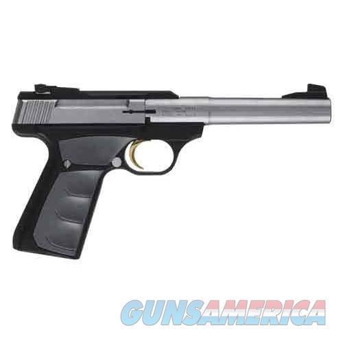 "Browning Buck Mark Camper Ufx S/S .22Lr 5.5""Hb Stainless/Blk Sn! 051483490  Guns > Pistols > B Misc Pistols"