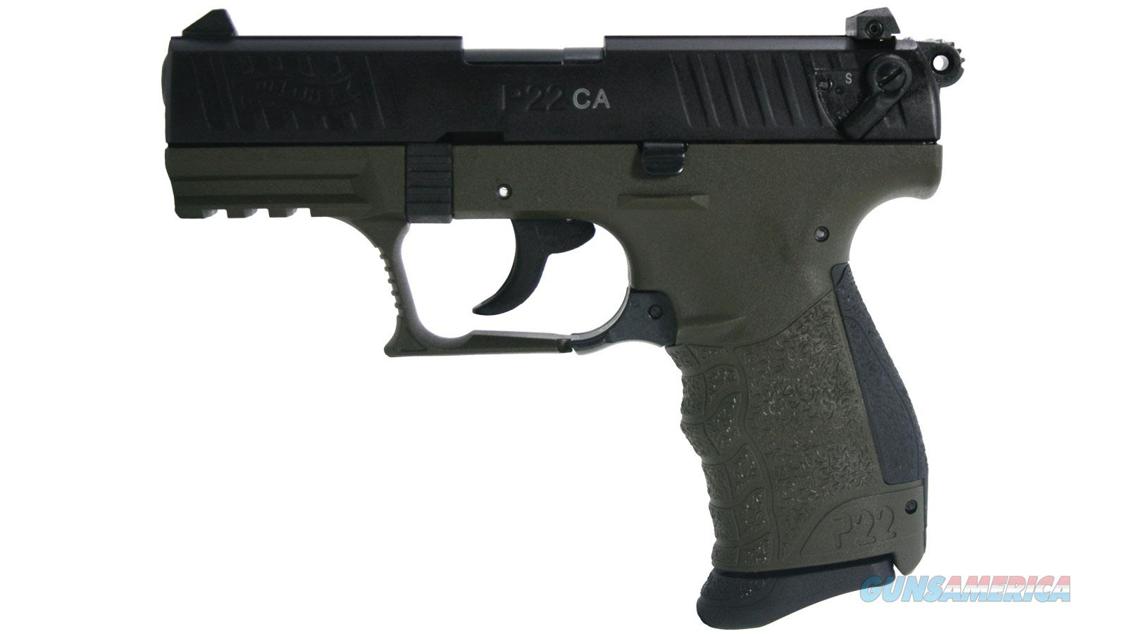 Walther Arms P22 Military 22Lr 3.42 Ca Legal 5120338  Guns > Pistols > W Misc Pistols