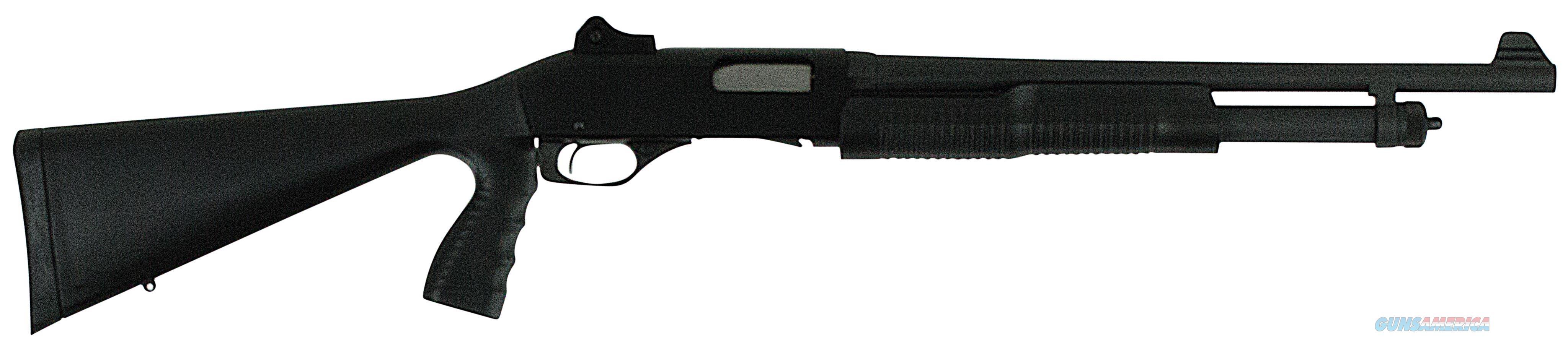 "Stevens 22439 320 Security Pump 20Ga 18.5"" 3"" Grs Blk Syn W/Pistol Grip 22439  Guns > Shotguns > S Misc Shotguns"