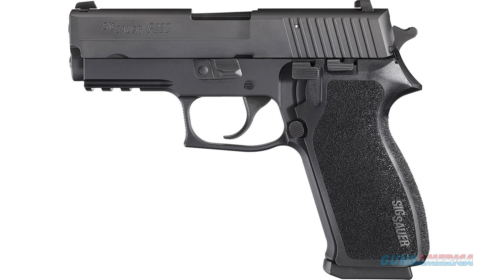 "Sig Sauer P220 45Acp 3.9"" 8Rd Sa/Da 220R3-45-BSS-CA  Guns > Pistols > S Misc Pistols"