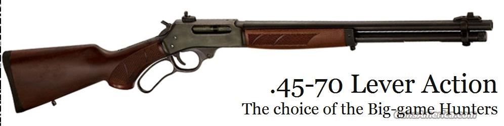 "Henry 45-70 Lever Government #H010 18.4"" American Walnut NEW  Guns > Rifles > Henry Rifles - Replica"