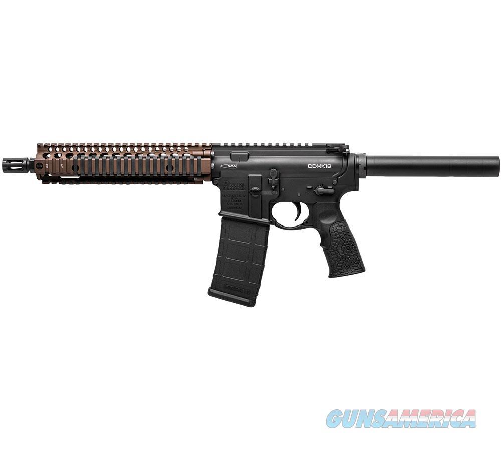 "Daniel Defense Mk18 Pistol 5.56/10.3"" Fde 02-088-06030  Guns > Pistols > D Misc Pistols"