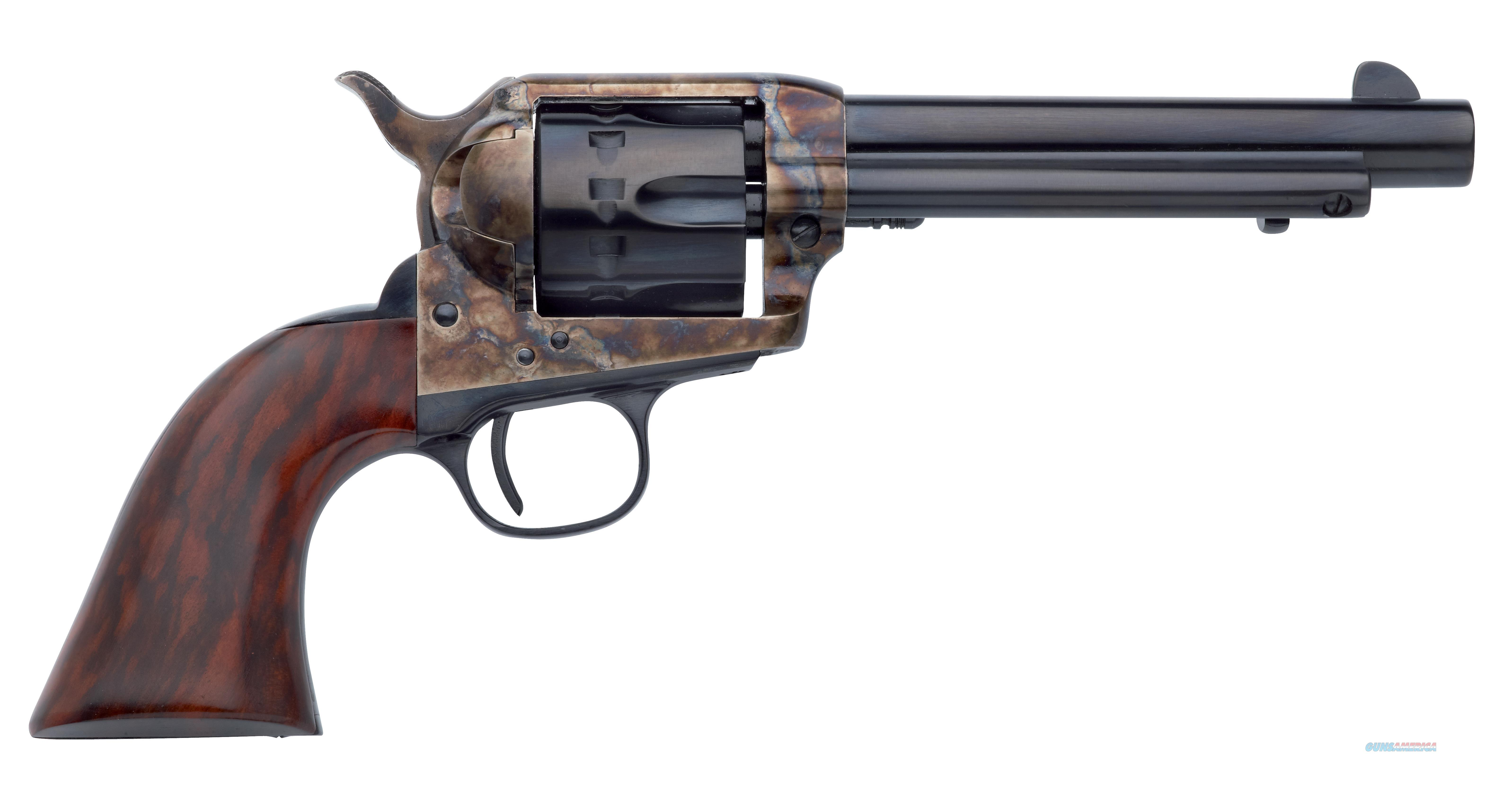 "Taylors And Company 4052 1873 Cattleman Single Action Revolver 22 Long Rifle (Lr) 5.5"" 12 Rd Walnut Grip Color Case Hardened Frame/Blued Barrel 4052  Guns > Pistols > TU Misc Pistols"