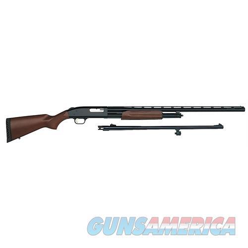 """Mossberg 54264 500 Field/Deer Combo Pump 12 Gauge 5+1 28""""/ 24"""" Wood Stock Blued 54264  Guns > Rifles > MN Misc Rifles"""
