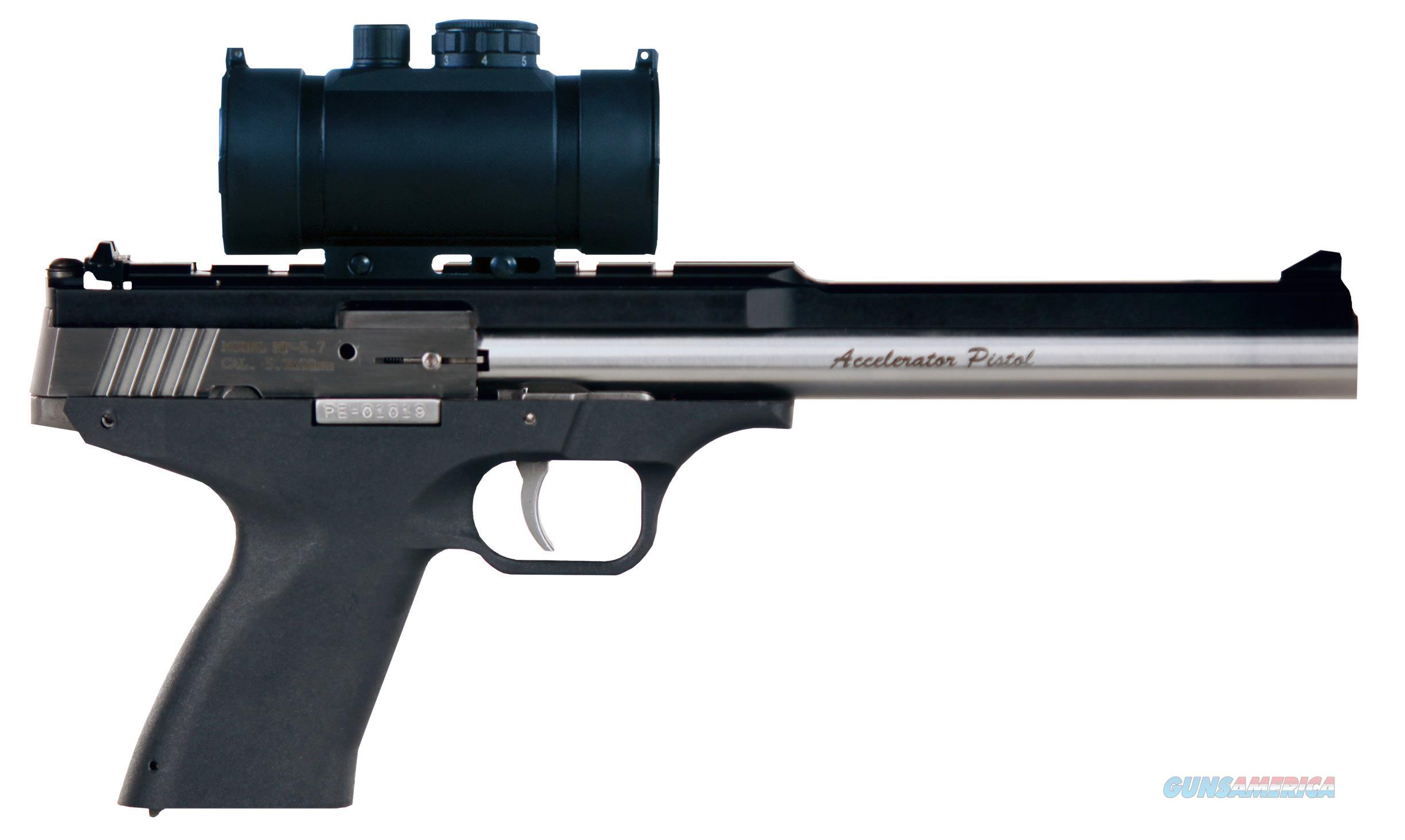 "Excel Ea22302 Accelerator Pistol Mp-22 Double 22  Wmr 8.5"" 9+1 As Red Dot Black Polymer Grip Black EA22302  Guns > Pistols > E Misc Pistols"