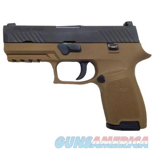P320 Cmpct 9Mm Nit/Fde 10+1 Fs 320C-9-T-FDE-10  Guns > Pistols > S Misc Pistols