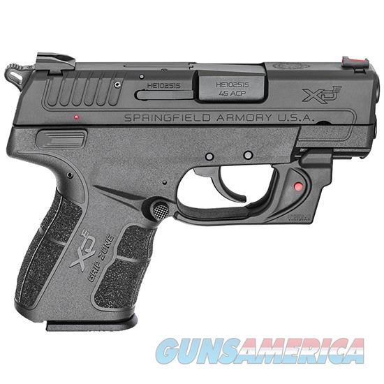 Springfield Armory Xde 45Acp 3.3 Blk Red Viridian Laser XDE93345BVR  Guns > Pistols > S Misc Pistols