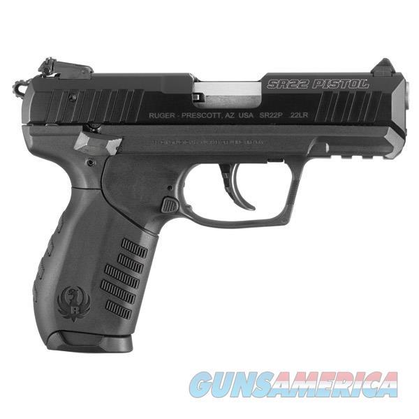 Ruger Sr22 22Lr 3.5 3600  Guns > Pistols > R Misc Pistols