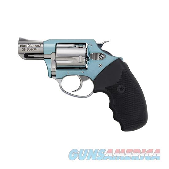 Charter Arms Undercover Lite 38Spl Blue Diamond 2 5Rd Blue 678958538793  Guns > Pistols > C Misc Pistols
