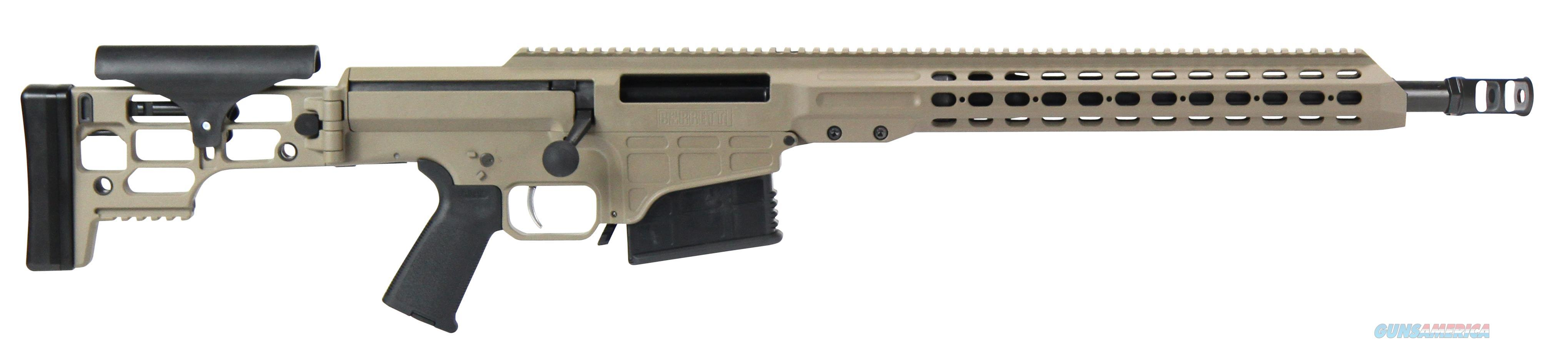 "Barrett 14343 Mrad Bolt 308 Winchester 17"" 10+1 Folding Metal Flat Dark Earth Stk Fde/Blk 14343  Guns > Rifles > B Misc Rifles"