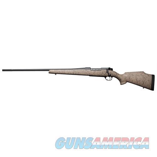 """Weatherby Mutm257wl6o Mark V Ultra Lightweight Lh Bolt 257 Weatherby Magnum 26"""" 3+1 Synthetic Tan W/Blk Spiderweb Stk MUTM257WL6O  Guns > Rifles > W Misc Rifles"""