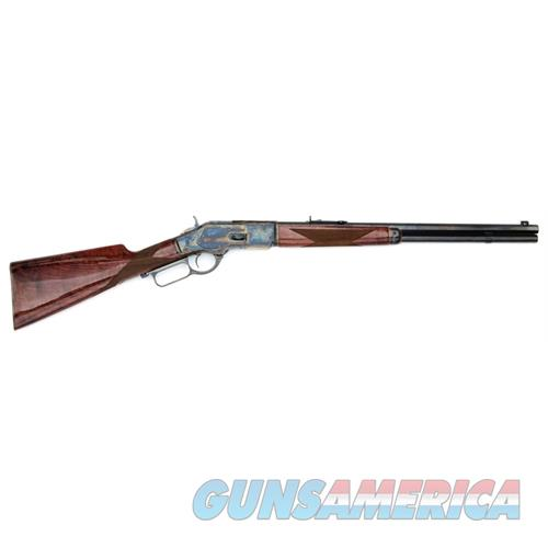 "Gibbs Rifle Co Inc 1873 Winchester Color Cased Lever Action .357/.38Spl 20"" NTW732038  Guns > Rifles > G Misc Rifles"