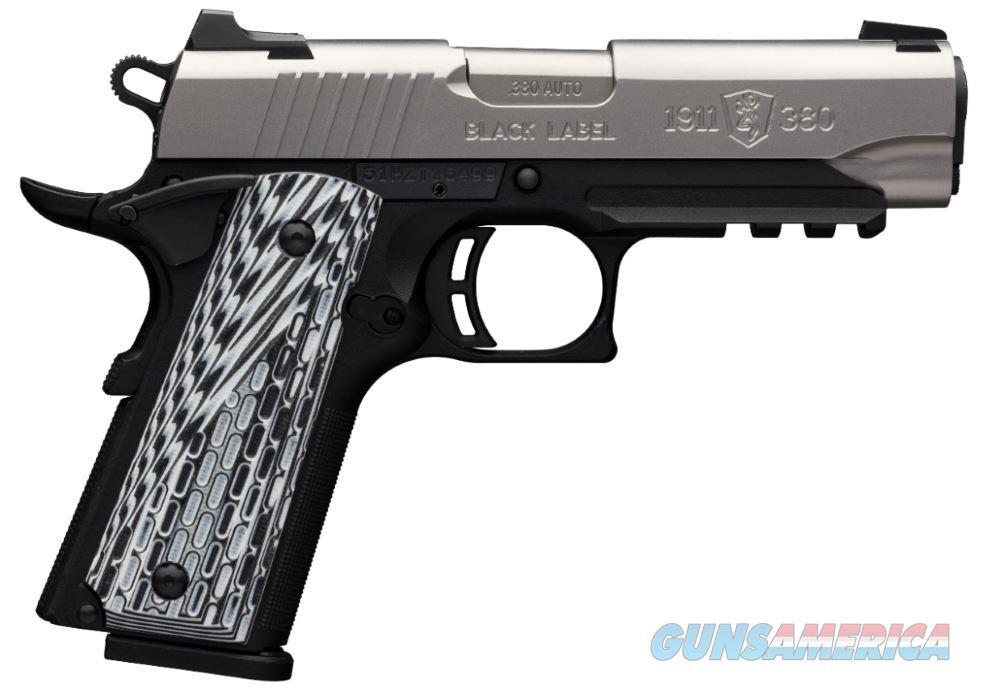 1911-380 380Acp Cmp Ss Rl Ns 051929492  Guns > Pistols > B Misc Pistols