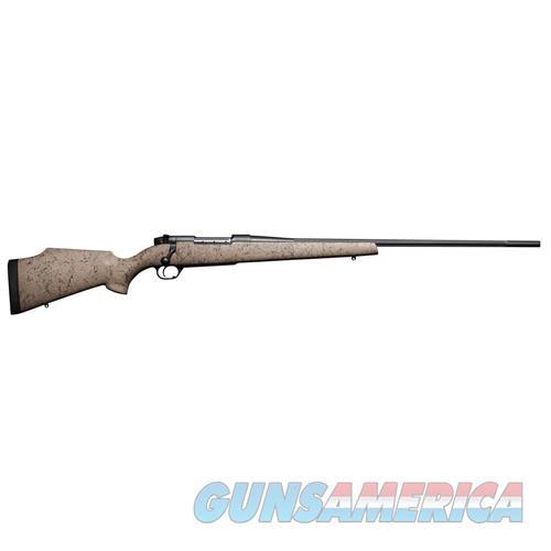"Weatherby Muts240wr4o Mark V Ultra Lightweight Bolt 240 Weatherby Magnum 24"" 5+1 Synthetic Tan W/Blk Spiderweb Stk MUTS240WR4O  Guns > Rifles > W Misc Rifles"