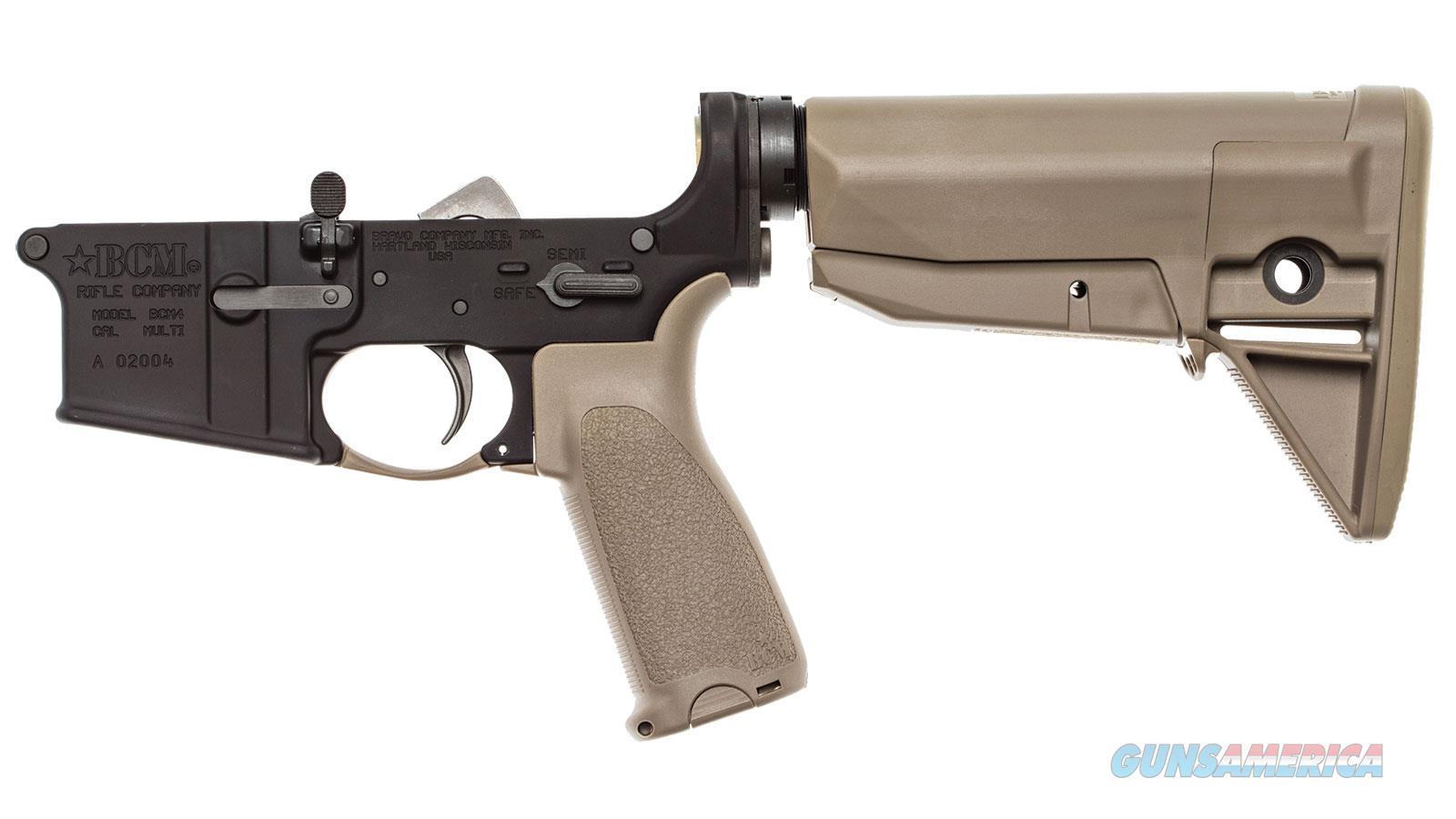 Bravo Company Usa Bcm4 5.56 Lower Rec 30Rd LRG-STK-MOD-0-FDE  Guns > Rifles > B Misc Rifles