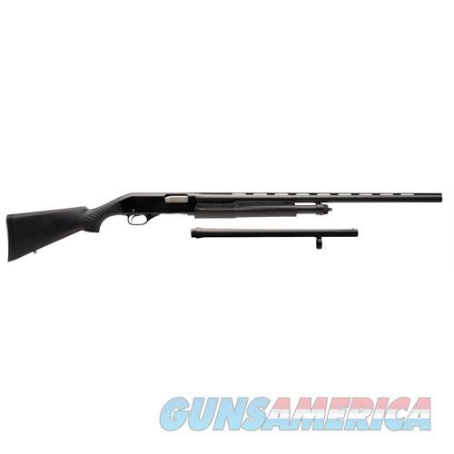 Stevens 19490 320 Field/Security Pump 12 Gauge Blued 19490  Guns > Shotguns > S Misc Shotguns