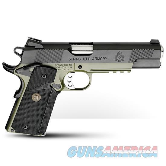 Springfield Armory Loaded Operator 45Acp Mc Odg Blk PX9105ML18  Guns > Pistols > S Misc Pistols