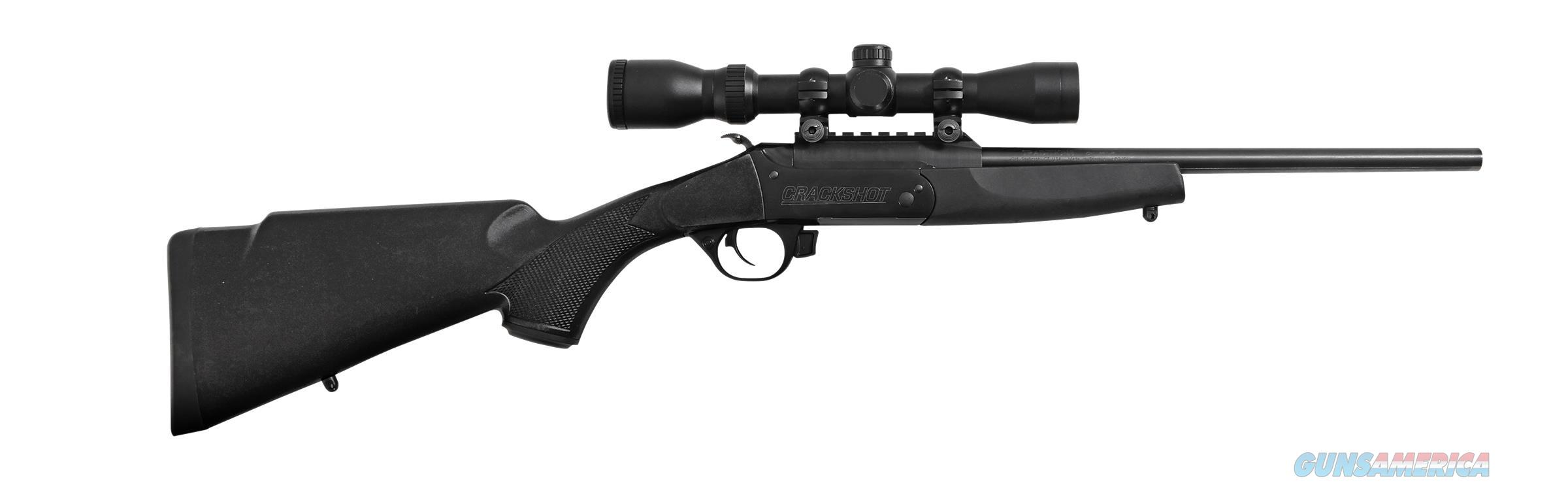 "TRADITIONS CR1220070 CRACKSHOT W/SCOPE BO 22LR 16.5"" 1RD BLACK SYN STOCK CR1220070  Guns > Rifles > Traditions Rifles"