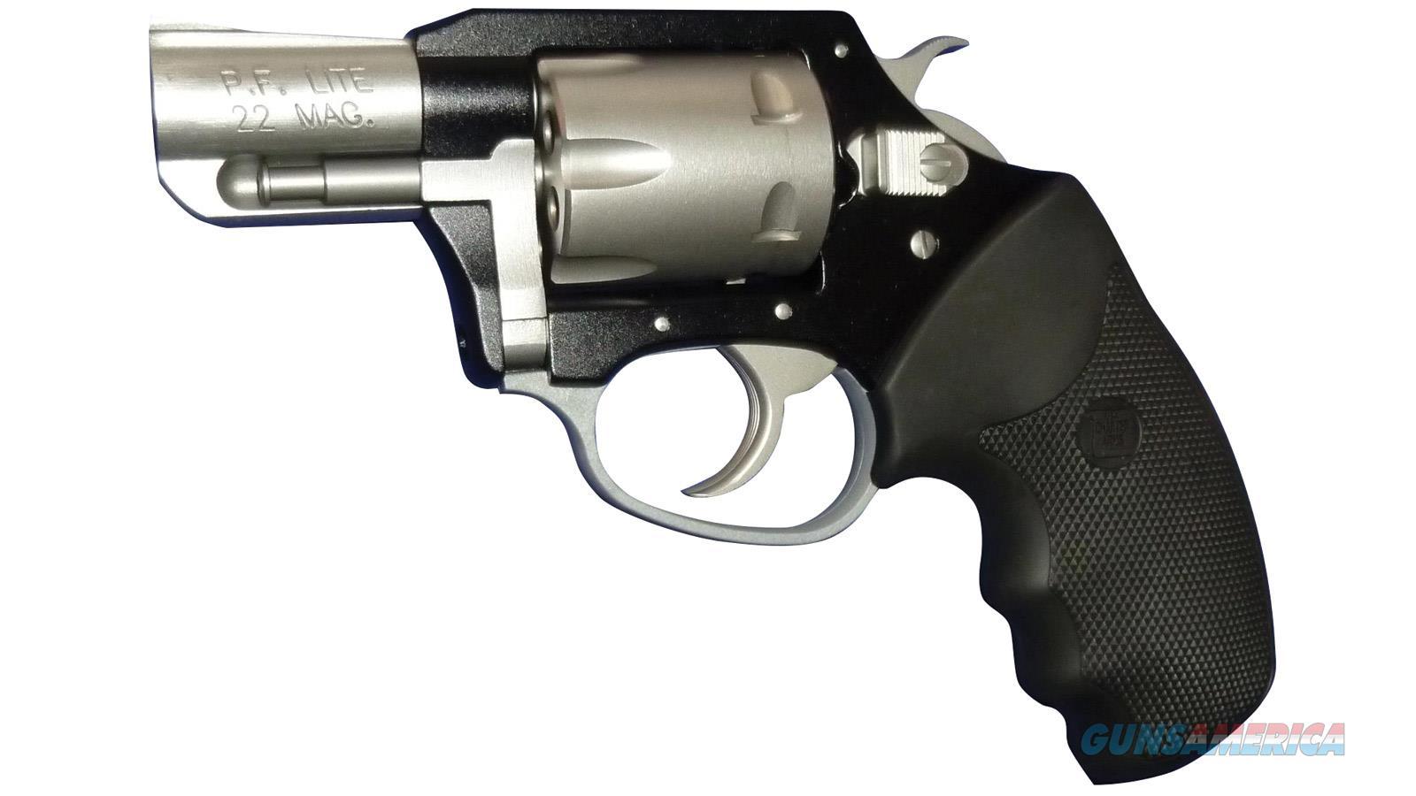 "Charter Arms 52370 Pathfinder Lite   Revolver Single 22 Winchester Magnum Rimfire (Wmr) 2"" 6 Rd Black Rubber Grip Stainless 52370  Guns > Pistols > C Misc Pistols"