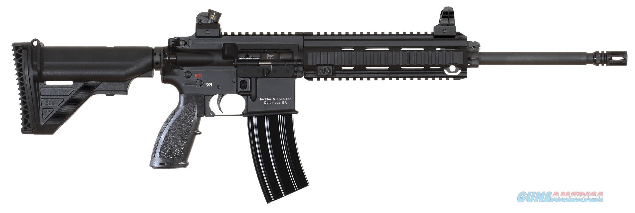 "HK MR556LCA1 MR556A1 MR556 SEMI-AUTOMATIC 223 REMINGTON/5.56 NATO 16.5"" 10+1 SYNTHETIC BLK STK MR556LCA1  Guns > Rifles > Heckler & Koch Rifles > Tactical"