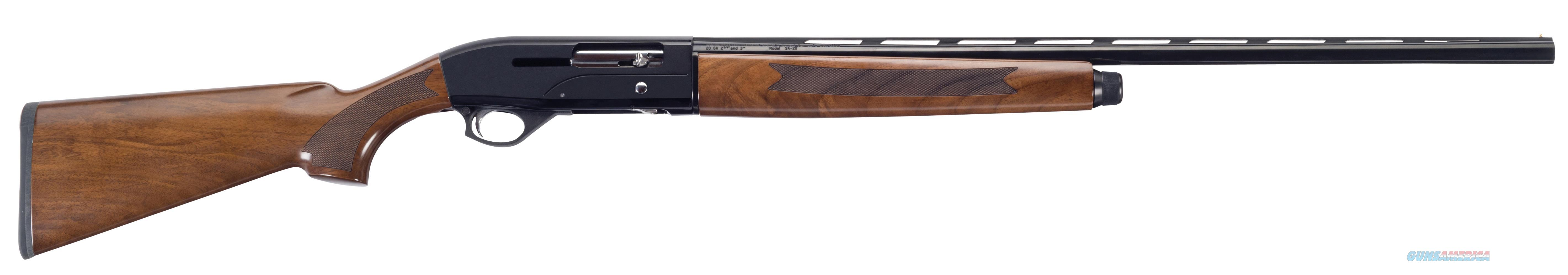 "Mossberg 75789 Sa-20 All Purpose Field Semi-Automatic 20 Gauge 26"" 3"" Walnut Stk Blued 75789  Guns > Shotguns > MN Misc Shotguns"