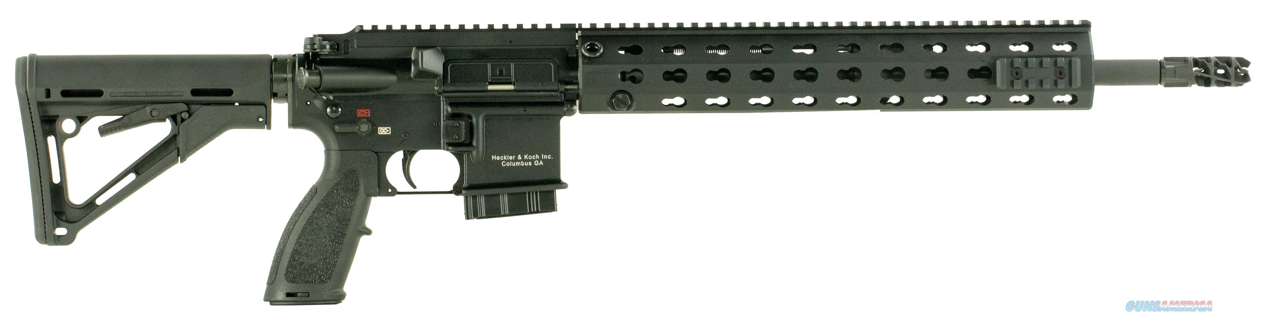 "Heckler & Koch Cr556lca1 Mr556 A1 Competition Semi-Automatic 223 Remington/5.56 Nato 16.5"" Mb 10+1 Or Magpul Ctr Black Stock Black CR556LCA1  Guns > Rifles > H Misc Rifles"