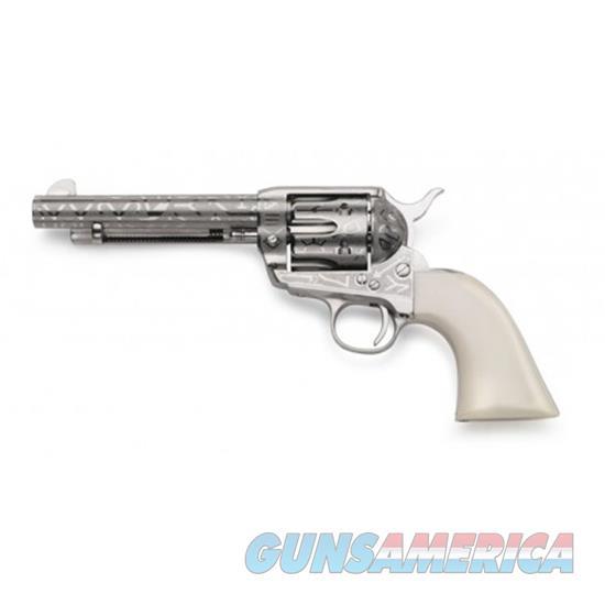 Taylor's & Co Pietta 1873 Cattlebra White Grip 5.5 .357Mag OG1405  Guns > Pistols > TU Misc Pistols