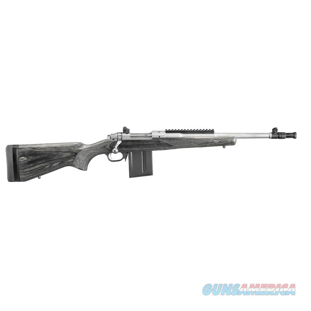 Ruger Gunsite Sct 5.56/223 Ss Rh 6825  Guns > Rifles > R Misc Rifles