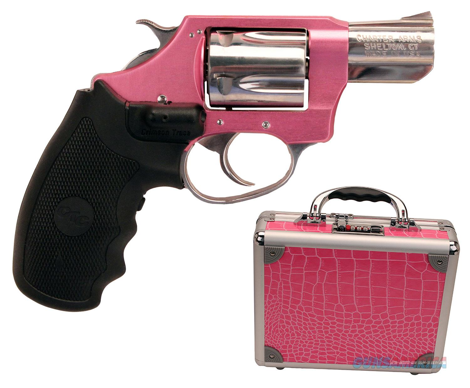 Charter Arms Chic Lady 38Spl Pink Ss Laser Grips 5Rd 53832  Guns > Pistols > C Misc Pistols
