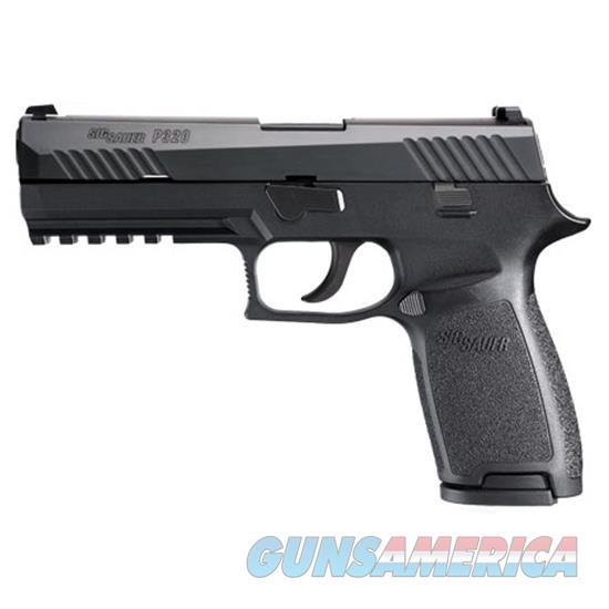 Sig Sauer P320 Full Sz 45Acp Blk Nitron Cont Sights 320F-45-B  Guns > Pistols > S Misc Pistols