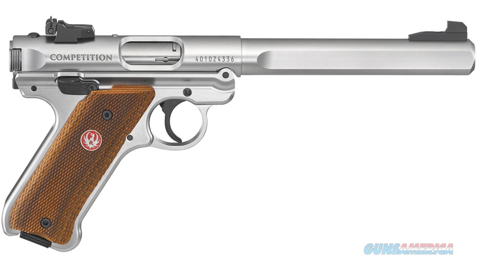 Ruger Mark Iv Competition 22Lr 40112  Guns > Pistols > R Misc Pistols