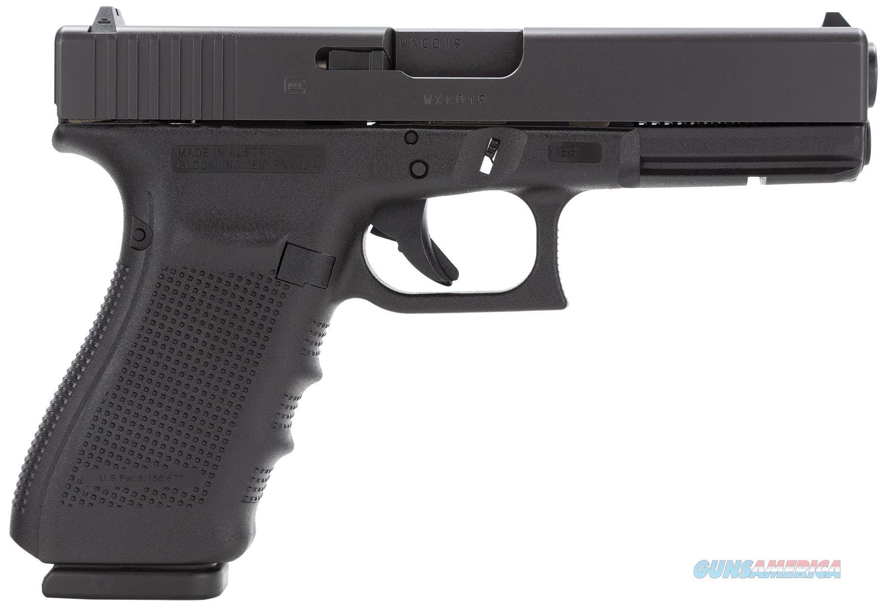 Glock G21 Gen4 Semi Auto Pistol 45 Acp, 4.6 In, Poly Grp, 13+1 Rnd, Fixed, Full Sz Blk Frame PG2150203  Guns > Pistols > G Misc Pistols