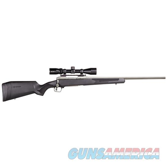 "Savage 110 Apex Storm Xp Bolt Action Rifle 300 Win Mag , 24"" Bbl Ss, Blk Syn Lop Stock, 3 Rnd Dm, Vortex Crossfire Ii 3-9X40, 57354  Guns > Rifles > S Misc Rifles"