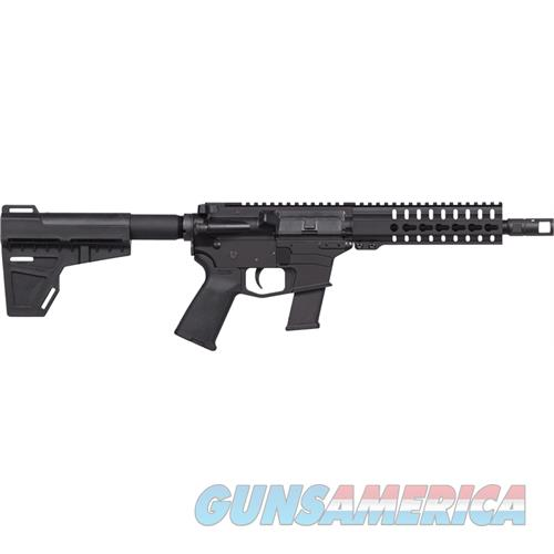 "Cmmg Guard Mkg-45 Pistol 45Acp 8"" 13Rd Blk 7"" Keymod W/Brace 45ABF17  Guns > Pistols > C Misc Pistols"