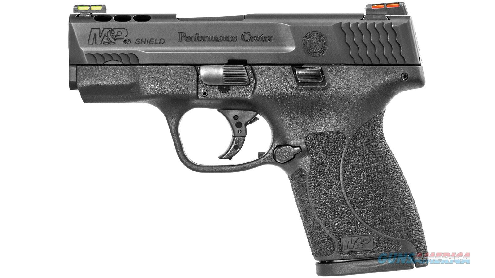 SMITH & WESSON M&P SHIELD 45ACP 3.3 PORTED FOS NO THUMB SAFE 11629  Guns > Pistols > S Misc Pistols