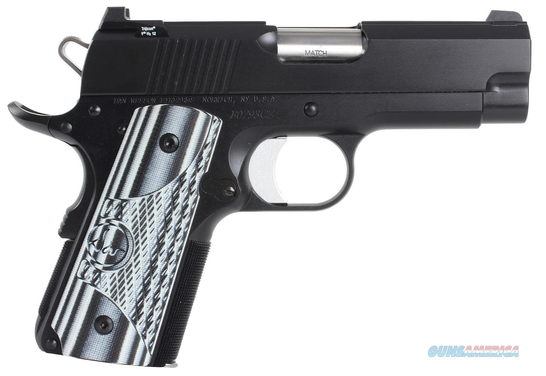 "Dan Wesson 01968 Dw Eco 9Mm 3.5"" 8+1 Black/Gray G10 Grip Black 01968  Guns > Pistols > C Misc Pistols"