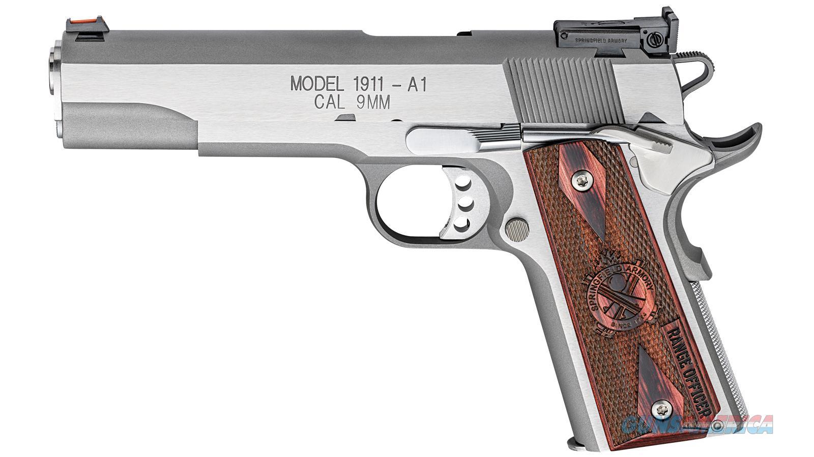 Springfield Armory 1911 9Mm 5 Ss As Range Officer PI9122L  Guns > Pistols > S Misc Pistols