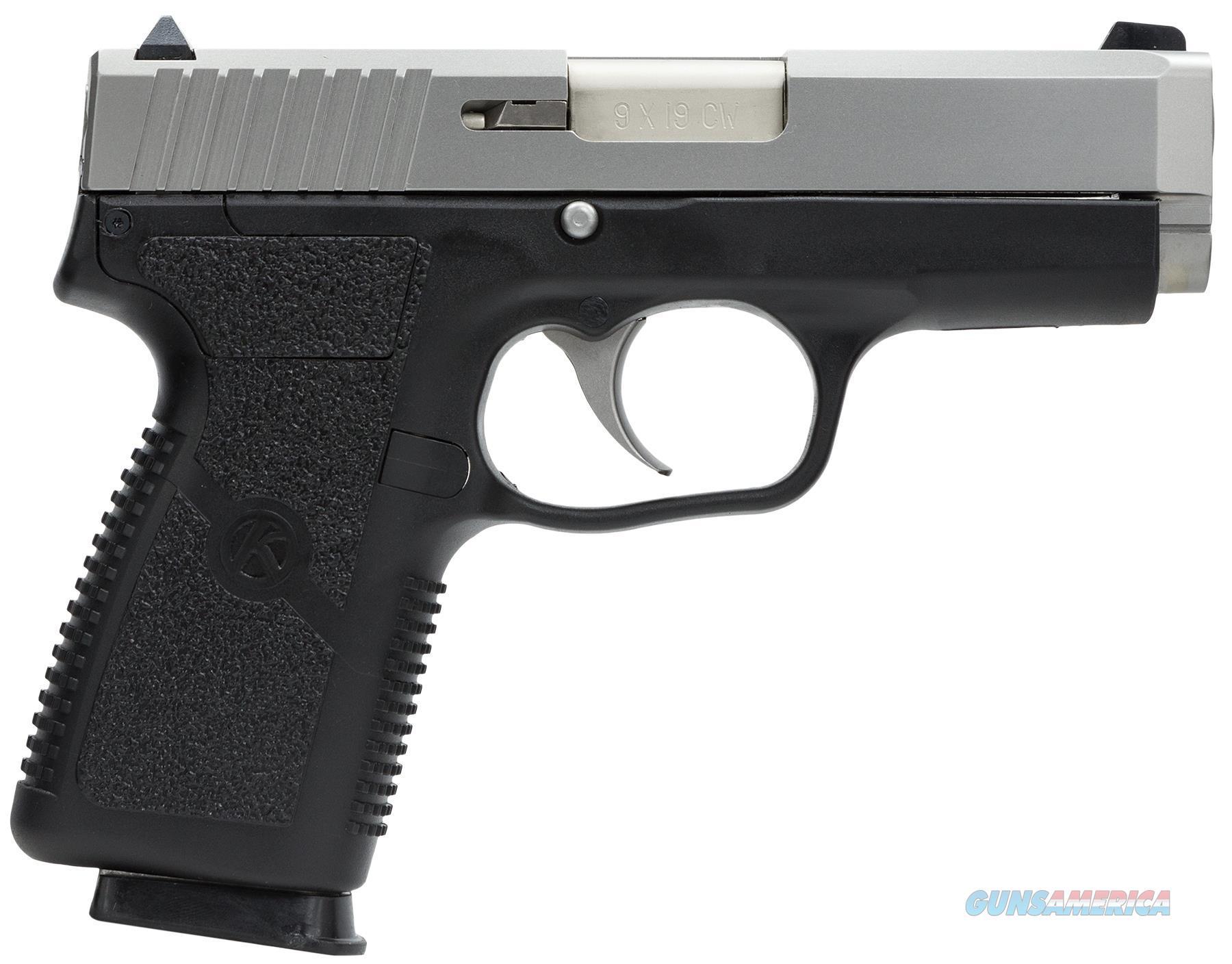Kahr Arms Cw9 Value Semi Auto Pistol 9Mm, 3.5 In, Poly Grp, 7+1 Rnd, Compact Blk Frame CW9093  Guns > Pistols > K Misc Pistols