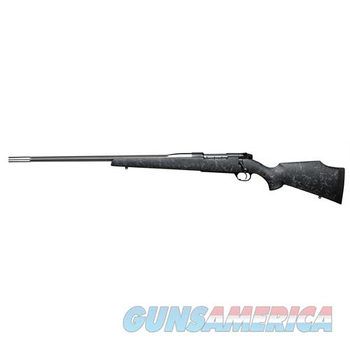 """Weatherby Mamm303wl8b Mark V Accumark Bolt 30-378 Weatherby Magnum 26"""" 2+1 Synthetic Black W/Gray Spiderweb Stk Fluted Stainless Steel MAMM303WL8B  Guns > Rifles > W Misc Rifles"""