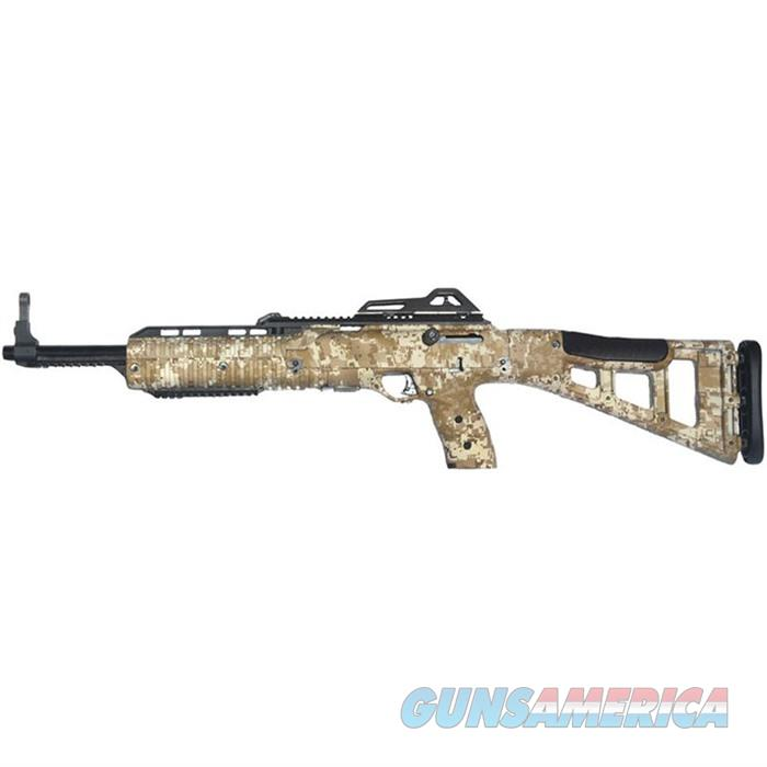 "Hi-Point 995Tswc 995Ts Carbine Semi-Automatic 9Mm 16.5"" 10+1 Polymer Skeleton Woodland Camo Stock Black 995TS WC  Guns > Rifles > H Misc Rifles"