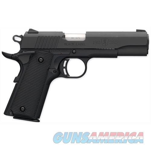 Browning Black Label 1911-380 380Acp Fs 8-Shot Matte Black Syn 051904492  Guns > Pistols > B Misc Pistols