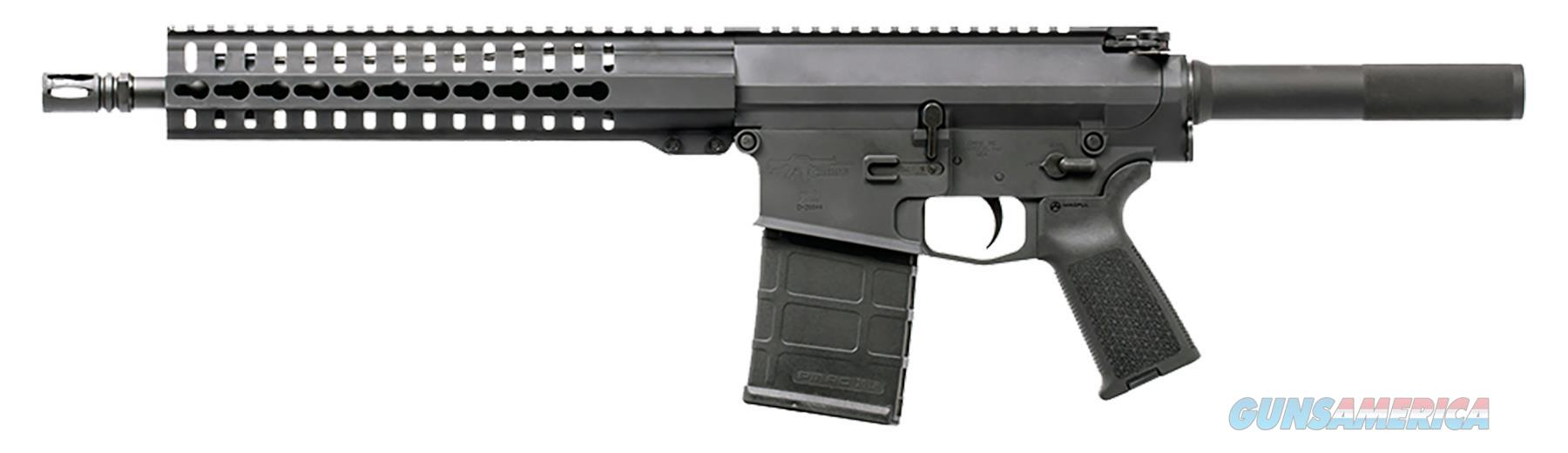 "Cmmg 38A923e Mk3 K Ar Pistol Semi-Automatic 308 Winchester/7.62 Nato 12.5"" 20+1 Aluminum Black 38A923E  Guns > Pistols > C Misc Pistols"