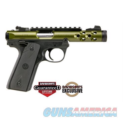 Ruger Mkiv 2245 Lt 22Pst 4.4 Grn 43916  Guns > Pistols > R Misc Pistols