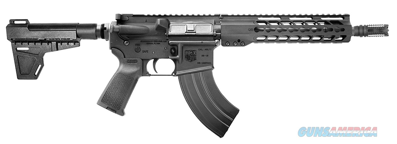 Diamondback Firearms Pistol 7.62X39mm Black 28-Shot No Sights DB15P47B10  Guns > Pistols > D Misc Pistols