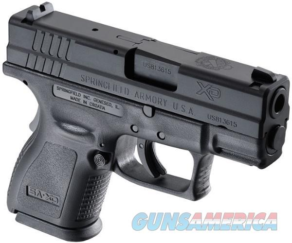 "Springfield Armory Xd Ess Pkg 40Sw 3"" Blk 9Rd XD9802  Guns > Pistols > S Misc Pistols"