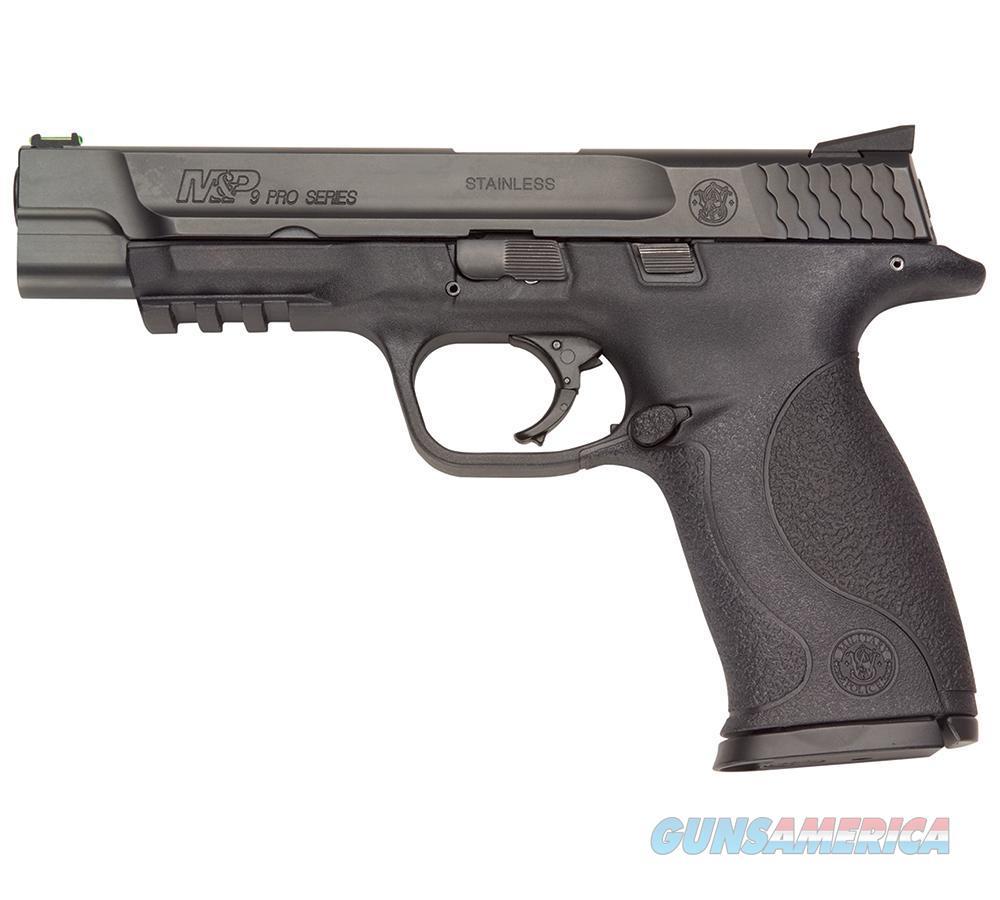 "Smith & Wesson M&P 9 Pro Ser 9Mm 10Rd 5"" 178048  Guns > Pistols > S Misc Pistols"