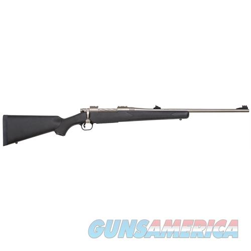 """Mossberg 27930 Patriot Synthetic Marinecote Bolt 375 Ruger 22"""" 4+1 Rs Synthetic Black Stk Silver Marinecote 27930  Guns > Rifles > MN Misc Rifles"""
